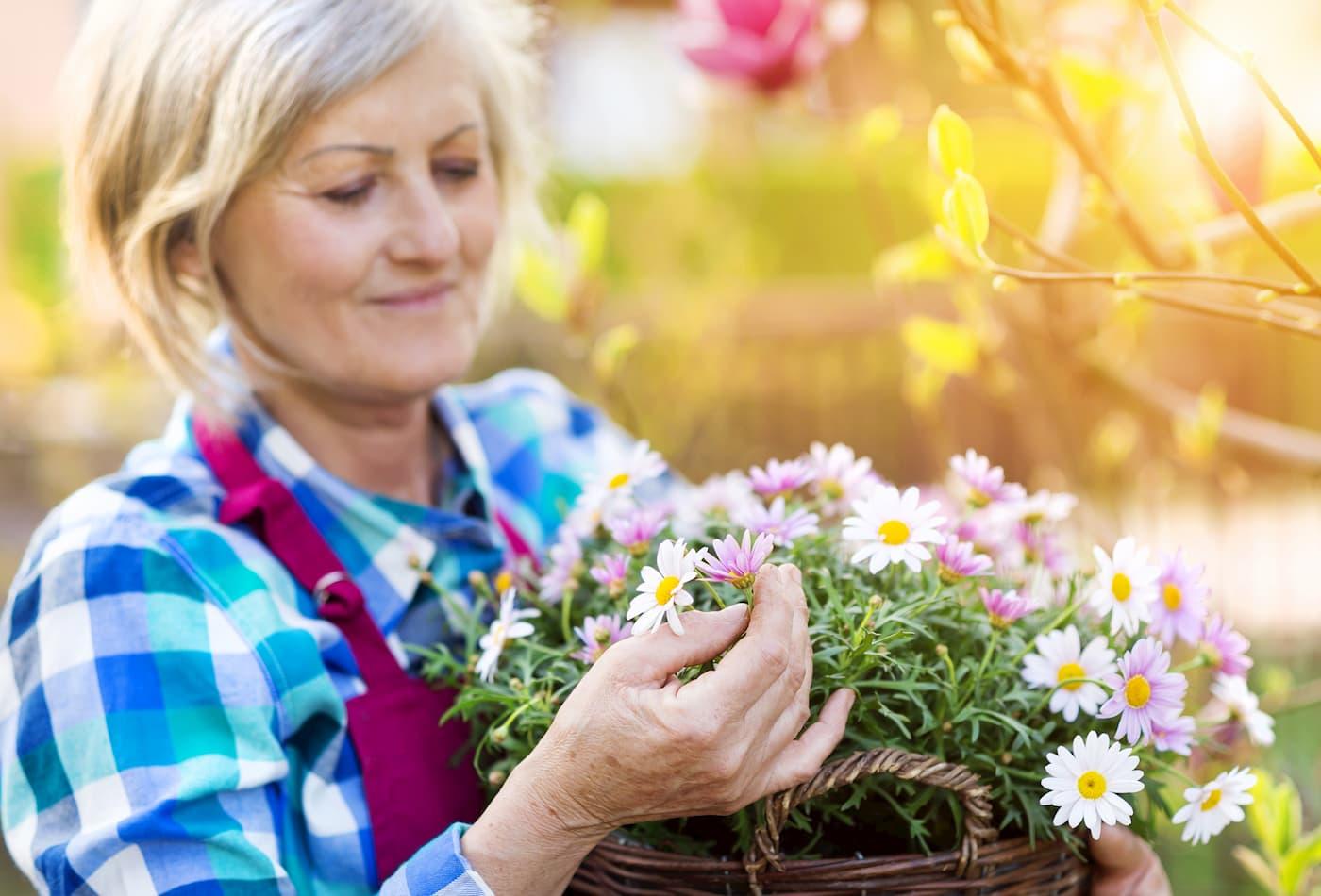 bienfaits du jardinage