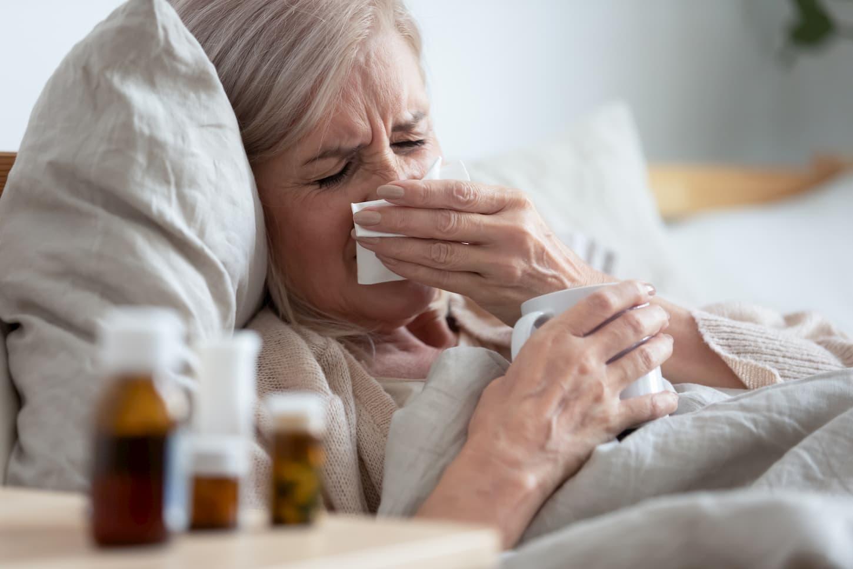 prévenir la grippe chez les seniors