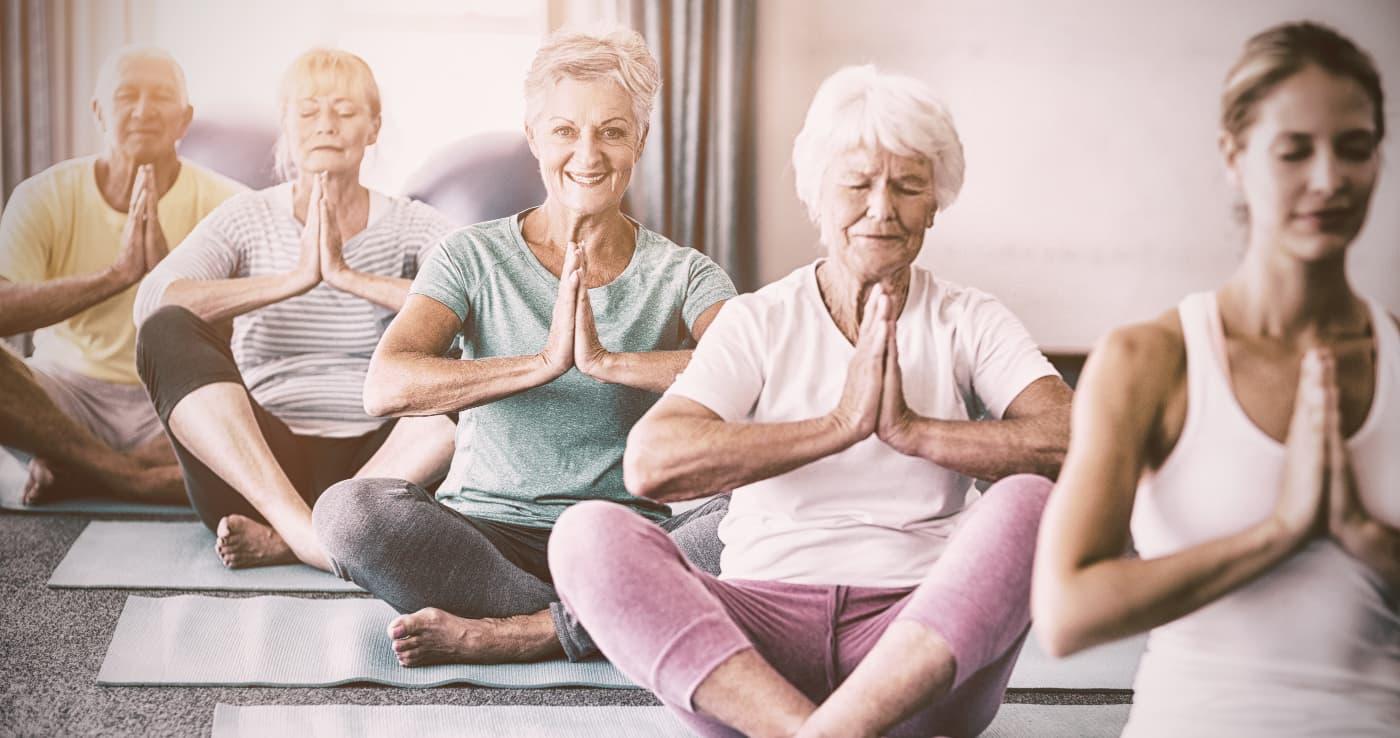 yoga pour senior