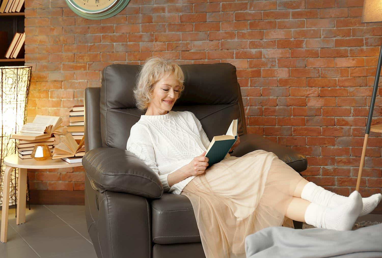 fauteuil confortable pour senior