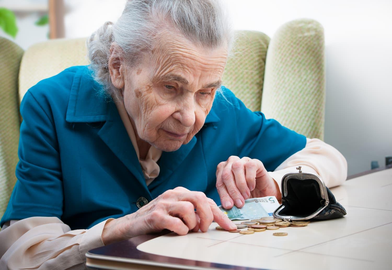 baisse revenus senior